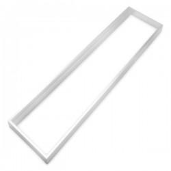 Suporte de painel LED 30x120, côr branca