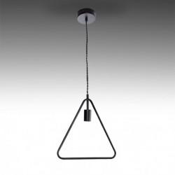Candeeiro ferro preto para lâmpada E27 N6