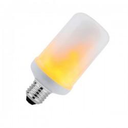 Lâmpada LED efeito chama 360º 4W