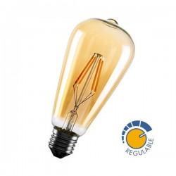Lâmpada LED filamento antiga 360º 6W