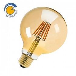 Lâmpada LED globo antiga 360º 6W