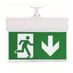 Bloco de emergência para teto 3W para baixo