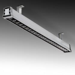 Luminária de parede LED 24W IP65 RGB controlo remoto