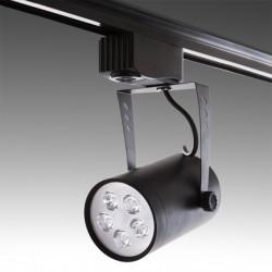 Foco LED 5W preto