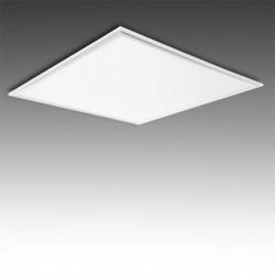 Painel LED 60x60cm, aro branco