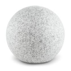 Esfera de luz, granito, com espigão, Ø30cm