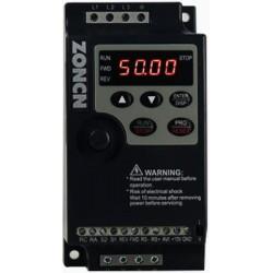 Variador de velocidade monofásico, 1,5kW