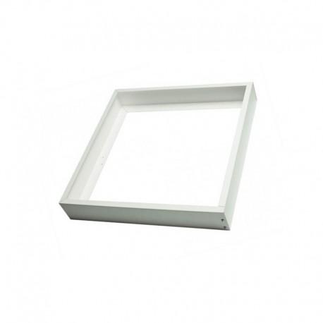 Suporte de painel LED 60x60cm, cor branca