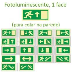 Orientação para saídas de emergência