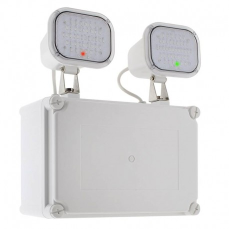 Luz de emergencia LED KROLUX Estanca IP65, Industrial