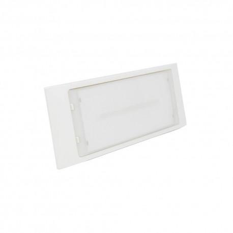 Armadura Emergência LED Permanente/Não Permanente Encastrar SLIM 3W