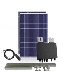 Kit Solar Autoconsumo directo 600W 3kW/dia APSystems