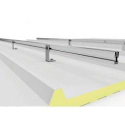 1x03 Suporte coplanar para 1 painel na vertical de 1650/2000x1000
