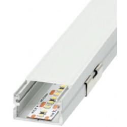 Perfil alumínio Roma XL para fita LED