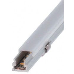 Perfil alumínio Detroit para fita LED