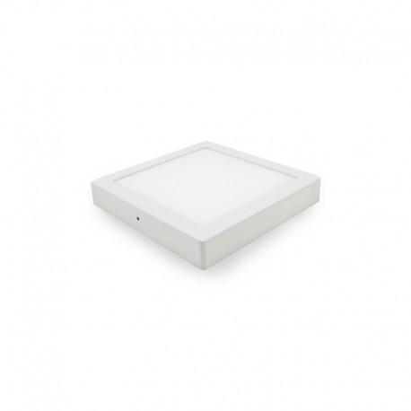 Plafond redondo aro branco 18W