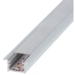 Perfil alumínio Berlin para fita LED. Preço de 2 metros