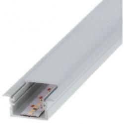 Perfil alumínio Berlin XL para fita LED. Preço de 2 metros