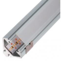 Perfil alumínio Sophia para fita LED. Preço de 2 metros