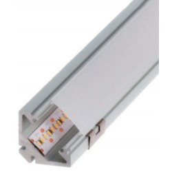 Perfil alumínio Sophia XL para fita LED. Preço de 2 metros