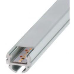 Perfil alumínio Paris para fita LED. Preço de 2 metros