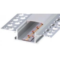 Perfil alumínio Montana para fita LED. Preço de 2 metros