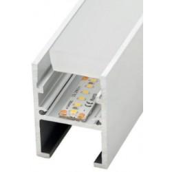 Perfil alumínio Azores para fita LED. Preço de 2 metros