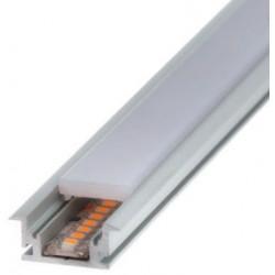 Perfil alumínio Dublin para fita LED. Preço de 2 metros