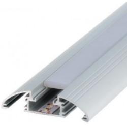 Perfil alumínio Florencia para fita LED. Preço de 2 metros