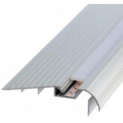 Perfil alumínio Tokyo para fita LED. Preço de 2 metros