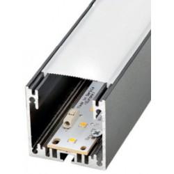 Perfil alumínio Munich Mini para fita LED. Preço de 2 metros