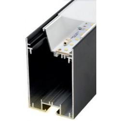 Perfil alumínio Munich Magnum para fita LED