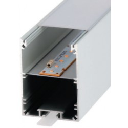 Perfil alumínio Munich para fita LED