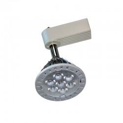 Foco LED Lázio em carril 7W