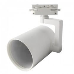 Foco LED Porto em carril, branco