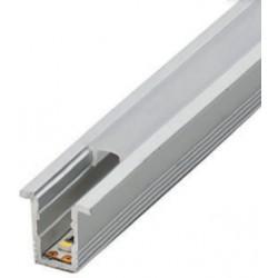 Perfil alumínio Philadelphia para fita LED. Preço de 2 metros