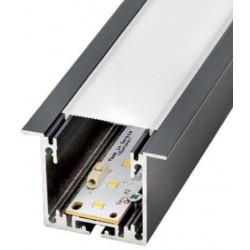 Perfil alumínio Moscu Mini para fita LED