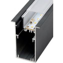 Perfil alumínio Moscu Magnum Slim para fita LED