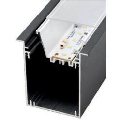 Perfil alumínio Moscu Magnum para fita LED