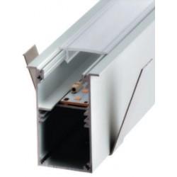 Perfil alumínio Moscu Slim para fita LED
