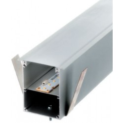 Perfil alumínio Moscu para fita LED