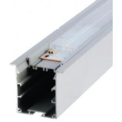 Perfil alumínio Krakovia (com óptica) para fita LED