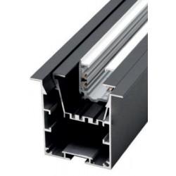 Perfil alumínio Krakovia (com optica e carril trifásico) para fita LED
