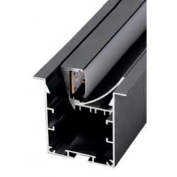 Perfil alumínio Krakovia (assimétrico) para fita LED