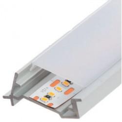 Perfil alumínio Amsterdam para fita LED