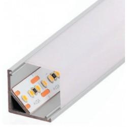 Perfil alumínio Zagreb para fita LED