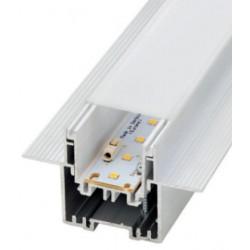 Perfil alumínio Madeira para fita LED