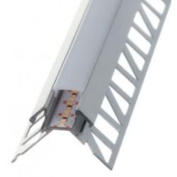 Perfil alumínio Portland para fita LED