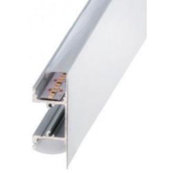 Perfil alumínio Kentucky para fita LED