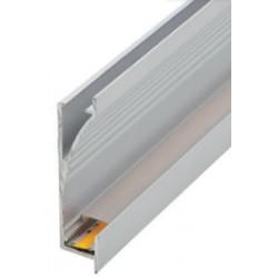 Perfil alumínio Atlanta Slim para fita LED